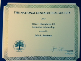 Thank you to #NGS2015GEN for the Home Study Course Scholarship