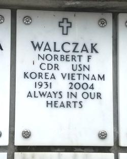 Norbert Walczak's Tombstone