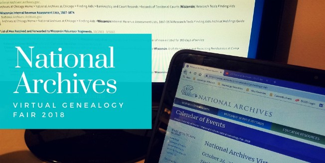 #wednesdaywisdom with NARA's Virtual Genealogy Fair