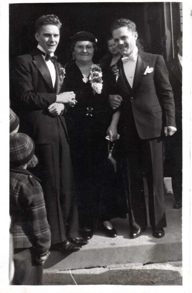 Mathew, Stella, and Felix Szubinski, 1937