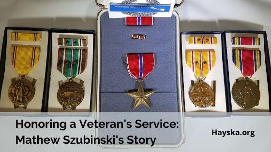 Honoring a Veterans Service: Mathew Szubinski's WWII Story